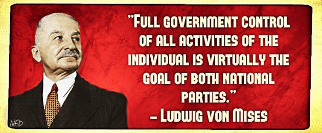 Mises-on-the-two-parties